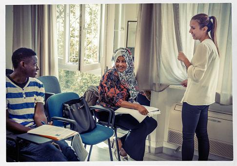 Insegnare l'italiano ai migranti con CVM
