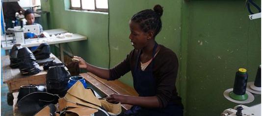 Leather Project, esempio di cooperazione: pellame etiope ed expertise marchigiana