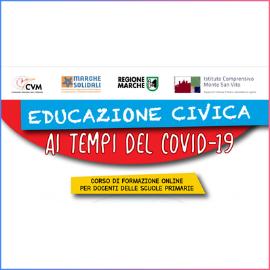Educazione Civica ai tempi del Covid-19 – corso per docenti delle scuole primarie